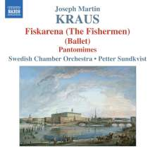 Josef Martin Kraus (1756-1792): Fiskarena (The Fishermen), CD