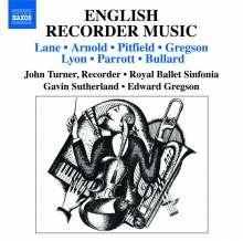 English Recorder Music, CD