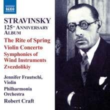 Igor Strawinsky (1882-1971): Igor Strawinsky - 125th Anniversary Album, CD