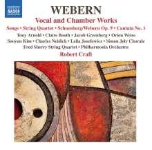 Anton Webern (1883-1945): Kammermusik und Vokalwerke, CD