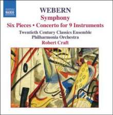 Anton Webern (1883-1945): Symphonie op.21, CD