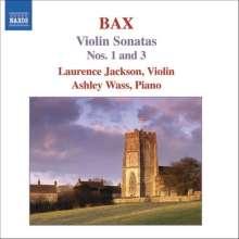 Arnold Bax (1883-1953): Violinsonaten Vol.1, CD