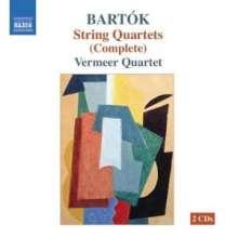 Bela Bartok (1881-1945): Streichquartette Nr.1-6, 2 CDs