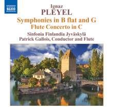 Ignaz Pleyel (1757-1831): Symphonien G-Dur & B-Dur (Benton 130 & 125), CD