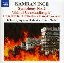 "Kamran Ince (geb. 1960): Symphonie Nr.2 ""Fall of Constantinople"", CD"