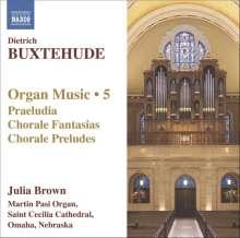 Dieterich Buxtehude (1637-1707): Orgelwerke Vol.5, CD