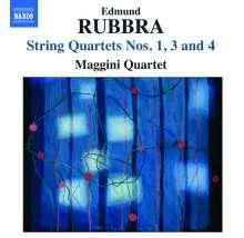 Edmund Rubbra (1901-1986): Streichquartette Nr.1,3,4, CD