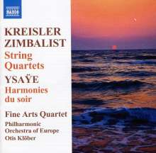 Fine Arts Quartet, CD