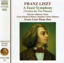Franz Liszt (1811-1886): Klavierwerke Vol.34, CD