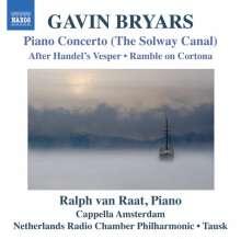 Gavin Bryars (geb. 1943): Klavierkonzert (The Solway Canal), CD
