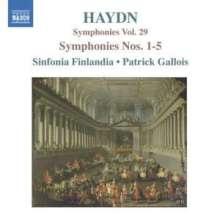 Joseph Haydn (1732-1809): Symphonien Nr.1-5, CD