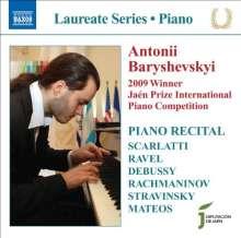 Antoni Baryshevskyi - Piano Recital, CD