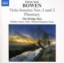 York Bowen (1884-1961): Sonaten für Viola & Klavier Nr.1 & 2, CD