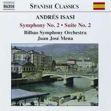 Andres Isasi (1890-1940): Symphonie Nr.2, CD