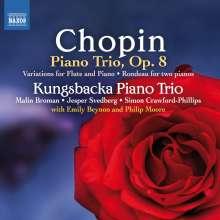 Frederic Chopin (1810-1849): Klaviertrio op.8, CD