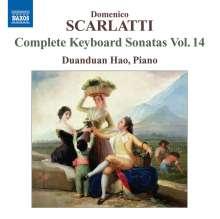 Domenico Scarlatti (1685-1757): Klaviersonaten Vol.14, CD