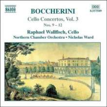 Luigi Boccherini (1743-1805): Cellokonzerte Vol.3, CD