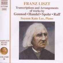 Franz Liszt (1811-1886): Klavierwerke Vol.38, CD