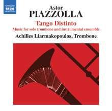 Astor Piazzolla (1921-1992): Tango Distinto - Tangos für Posaune & Instrumentalensemble, CD