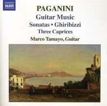 Niccolo Paganini (1782-1840): Sonaten für Gitarre Nr.4,6,14,30, CD