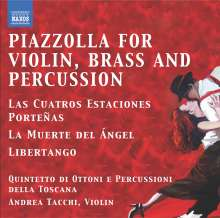 Astor Piazzolla (1921-1992): Die 4 Jahreszeiten für Violine,Blechbläser & Percussion, CD