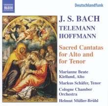 Johann Sebastian Bach (1685-1750): Kantaten BWV 35,55,160,189, CD