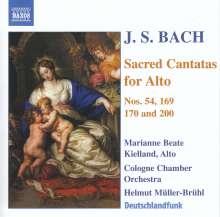 Johann Sebastian Bach (1685-1750): Kantaten BWV 53,54,169,170,200, CD