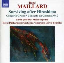 """Rene Maillard (geb. 1931): Kantate """"Surviving after Hiroshima"""", CD"""