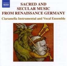 Geistliche & weltliche Musik aus der Renaissance (Deutschl.), CD