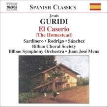 Jesus Guridi (1886-1961): El Caserio, CD