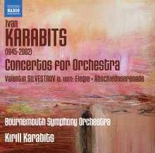 Ivan Karabyts (geb. 1945): Konzerte für Orchester Nr.1-3, CD