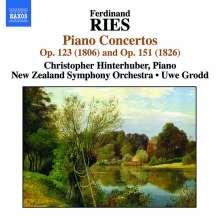 Ferdinand Ries (1784-1838): Klavierkonzerte opp.123 & 151, CD