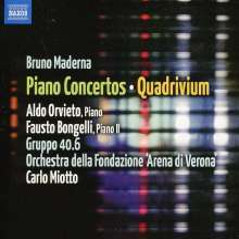 Bruno Maderna (1920-1973): Klavierkonzerte, CD