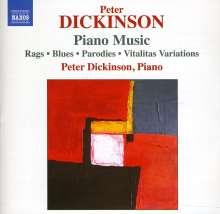Peter Dickinson (geb. 1934): Klavierwerke, CD