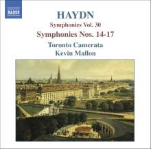 Joseph Haydn (1732-1809): Symphonien Nr.14-17, CD