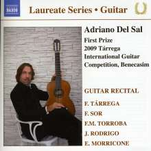 Adriano Del Sal - Guitar Recital, CD
