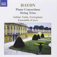 Joseph Haydn (1732-1809): Concertinos für Klavier H14 Nr.11-13,H18:F2, CD