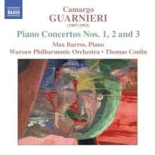 Mozart Camargo Guarnieri (1907-1993): Klavierkonzerte Nr.1-3, CD