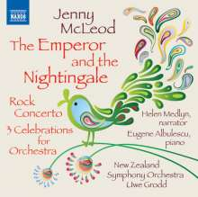 Jenny McLeod (geb. 1941): The Emperor and the Nightingale für Erzähler & Orchester, CD