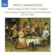 Penny Merriments - Street Songs of 17th Century England, CD