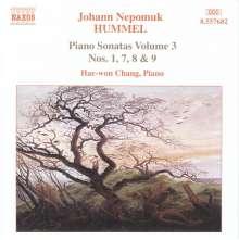 Johann Nepomuk Hummel (1778-1837): Klaviersonaten Vol.3, CD