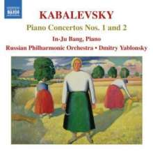 Dimitri Kabalewsky (1904-1987): Klavierkonzerte Nr.1 & 2, CD
