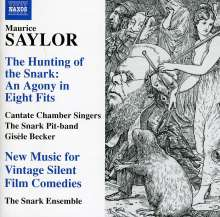 Maurice Saylor (geb. 1957): The Hunting of the Snark - An Agony in Eight Fits, CD