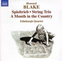 Howard Blake (geb. 1938): Spieltrieb für Streichquartett op.594, CD