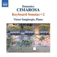 Domenico Cimarosa (1749-1801): Klaviersonaten Vol.2, CD