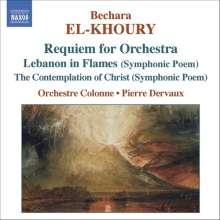 Bechara El-Khoury (geb. 1957): Orchesterwerke, CD