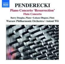 "Krzysztof Penderecki (geb. 1933): Klavierkonzert ""Resurrection"", CD"