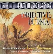 Franz Waxman (1906-1967): Objective,Burma! (Filmmusik), CD