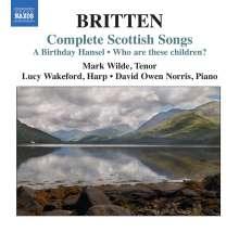 Benjamin Britten (1913-1976): Complete Scottish Songs, CD