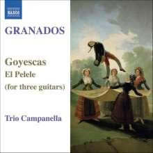 Enrique Granados (1867-1916): Goyescas für 3 Gitarren, CD